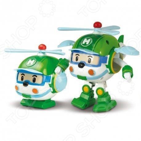 Игрушка-трансформер Poli «Хэли» Игрушка-трансформер Poli «Хэли» /