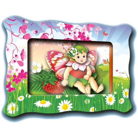 Купить Картинка объемная Vizzle «Фея Земляничка»