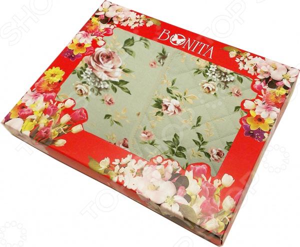 Комплект из 2-х полотенец и прихватки подарочный BONITA «Английская коллекция» 01010215514 комплект из 2 х фартуков bonita дочки матери