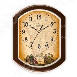 Часы настенные Вега П 2-9/7-5 2 полки настенные sonale