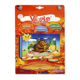Купить Картинка объемная Vizzle Мишка с медом