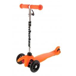 фото Самокат трехколесный Hubster Kick Mini. Цвет: оранжевый