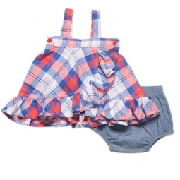 фото Сарафан с трусиками Fore N Birdie Double Plaid Reversible