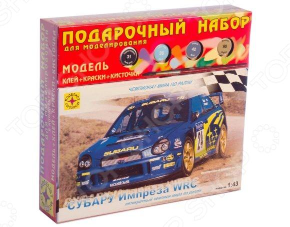 20877 «Субару Импреза» WRC Сборная модель автомобиля 1:43 Моделист «Субару Импреза» WRC