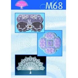 Купить Набор схем для парчмента Pergamano M68 Элегантные работы в белом цвете