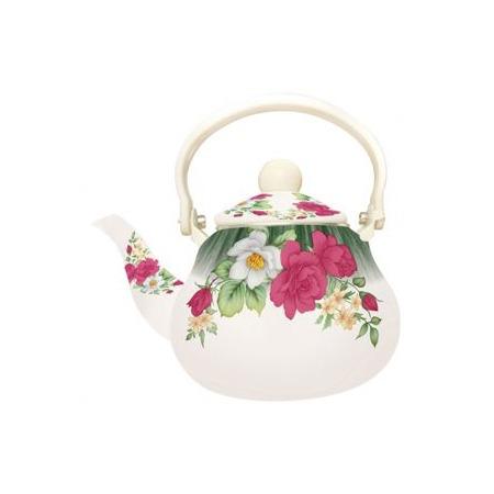 Купить Чайник «Чайная роза». Цвет: зеленый