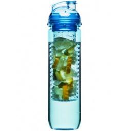 фото Бутылка Sagaform с емкостью для фруктов. Цвет: синий. Объем: 800 мл