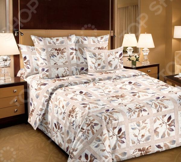 Комплект постельного белья Королевское Искушение «Аделина». 1,5-спальный1,5-спальные<br>Комплект постельного белья Королевское Искушение Аделина это сочетание прекрасного качества и стильного современного дизайна. Он внесет яркий акцент в интерьер вашей спальной комнаты, добавит ей элегантности и изысканности. В набор входит пододеяльник, простынь и две наволочки. Постельное белье выполнено из высококачественной перкали и украшено оригинальным принтом. Перкаль представляет собой плотную хлопчатобумажную ткань полотняного переплетения. Она отлично зарекомендовала себя в пошиве постельного белья, благодаря своей воздухопроницаемости, легкости и устойчивости к истиранию. Ткани и готовые изделия производятся на современном импортном оборудовании и отвечают европейским стандартам качества. Рекомендуется стирать белье в деликатном режиме без использования агрессивных моющих средств.<br>