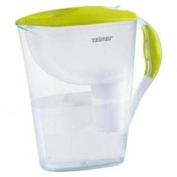 фото Фильтр-кувшин для воды ZELMER 340.01. Цвет: салатовый, белый