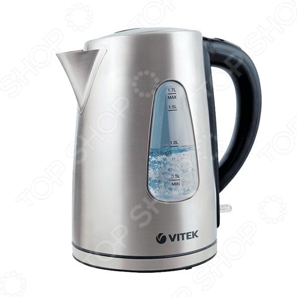 Чайник Vitek VT-7007 чайник vitek vt 7007 st 2200 вт 1 7 л нержавеющая сталь серебристый