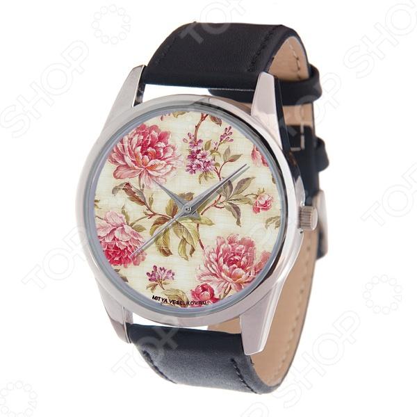 Часы наручные Mitya Veselkov «Пионы»