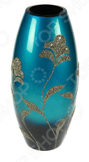 Ваза декоративная 14906Вазы<br>Ваза декоративная 14906 это симпатичная керамическая ваза, которая украсит любой интерьер. Ваза представляет собой не просто подставку для цветов, а настоящее произведение искусства. Она сочетает в себе изысканный дизайн и максимальную функциональность, поможет вам подчеркнуть дизайн помещения, сделать акцент или украсить пустое пространство на полке. Такая ваза будет удачно смотреться как в прихожей, так и в гостиной или спальне. А может вы решили украсить дачу или загородный дом Попробуйте разнообразить интерьер с помощью ваз, в которые можно сразу поставить свежие цветы! Дача преобразится и заиграет новыми красками! Керамика представляет собой прочный материал, который издавна считался одним из лучших для изготовления ваз. Керамика умеет регулировать температуру и накапливать влагу, поэтому ваши цветы не будут страдать от резких перепадов температур в знойные дни. При необходимости вазу такого типа легко очистить с помощью мыльной воды, можете использовать мягкую губку. Этот предмет интерьера может стать хорошим подарком для любой женщины.<br>