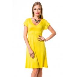 фото Платье Mondigo 8597. Цвет: желтый. Размер одежды: 42
