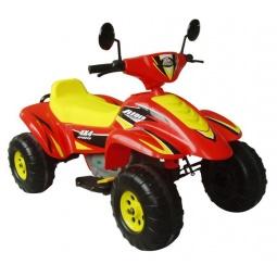 фото Квадроцикл детский электрический Пламенный Мотор «Бич Рейсер». Цвет: желтый, красный