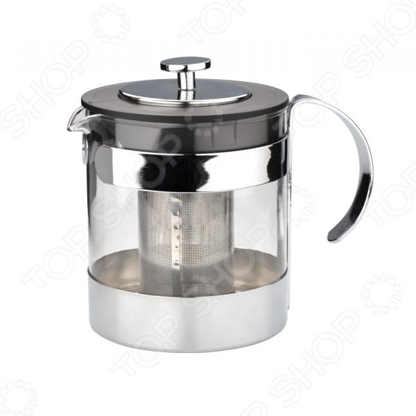 Чайник заварочный Dekok CP-1021Чайники заварочные<br>Чайник заварочный Dekok CP-1021 идеальное решение для любителей горячих напитков. Изделие отлично подходит для заваривания чая и травяных напитков. Специальное ситечко из нержавеющей стали марки 18 8 позволит вам быстро заварить чай, не оставляя на дне ни одного листочка. Высококачественное жаропрочное стекло выдерживает значительные перепады температуры, поэтому вы можете нагревать и охлаждать напиток сколько угодно. Практичный и элегантный дизайн делают чайник прекрасным решением для вашего кухонного интерьера. Увеличенный объем чайника в 1,2 л идеально подойдет для большой семьи или посиделок с гостями.<br>