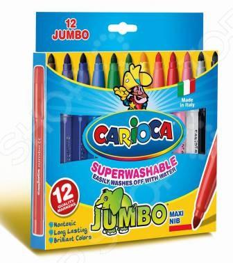 Набор фломастеров Universal Carioca Jumbo 40569
