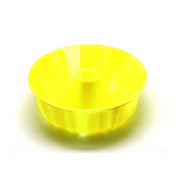 фото Форма для выпечки силиконовая Atlantis «Шарлотка» SC-BK-002M. Цвет: лимонный