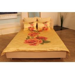 Купить Комплект постельного белья «Алла розы». 1,5-спальный