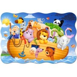 Купить Пазл 20 элементов Castorland «Ноев ковчег»