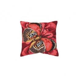 Купить Набор для вышивания подушки Collection D'art 5080