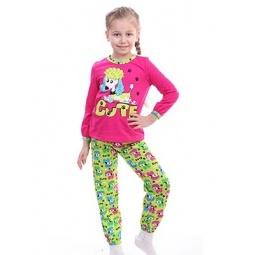 фото Пижама для девочки Свитанак 207409. Рост: 98 см. Размер: 28