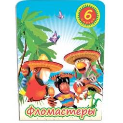 фото Набор фломастеров Beifa «Карнавал»: 6 цветов