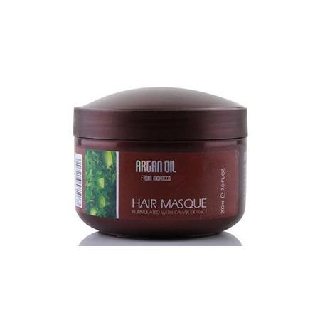 Купить Маска для питания и увлажнения волос с маслом арганы из Марокко и экстрактом икры