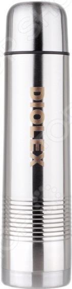 Термос для напитков Diolex DXWТермосы и термокружки<br>Термос Diolex DXW универсальный дорожный термос из нержавеющей стали, в котором можно хранить горячие и холодные напитки. Долго сохраняет температуру, легко моется и переносится за счет удобной конструкции. Термос оборудован специальной крышкой-стаканом, которая предотвращает изменение температуры внутри. Двойные стенки сохранят тепло даже в холодную погоду. Возьмите его с собой на спорт площадку, тренировку, на работу или в поездку. Преимущества:  Современный дизайн  Высококачественный материал  Корпус покрыт защитным цветным лаком<br>