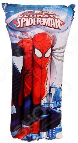 Матрас надувной водный Bestway Spider-ManНадувные матрасы<br>Матрас надувной водный Bestway Spider-Man очень полезный и важный аксессуар, который необходимо взять в поездку, если с вами будут дети. Для малышей, которые не умеют плавать, вода представляется неким барьером, таящим в себе нечто невероятно пугающее. Однако вместе с таким надежным матрасом с изображением храброго супер-героя плавание станет самым настоящим праздником, а морские глубины уже не будут пугать. Матрас будет отличным способом начать обучение плаванью в игровой форме, он станет хорошим помощником как для малыша, так и для его родителей. Изделие оснащено предохранительными клапанами, имеется контурная подушка для комфортного отдыха. Конструкция матраса представлена 5-ю большими камерами. В комплекте также прилагается ремонтная заплата.<br>