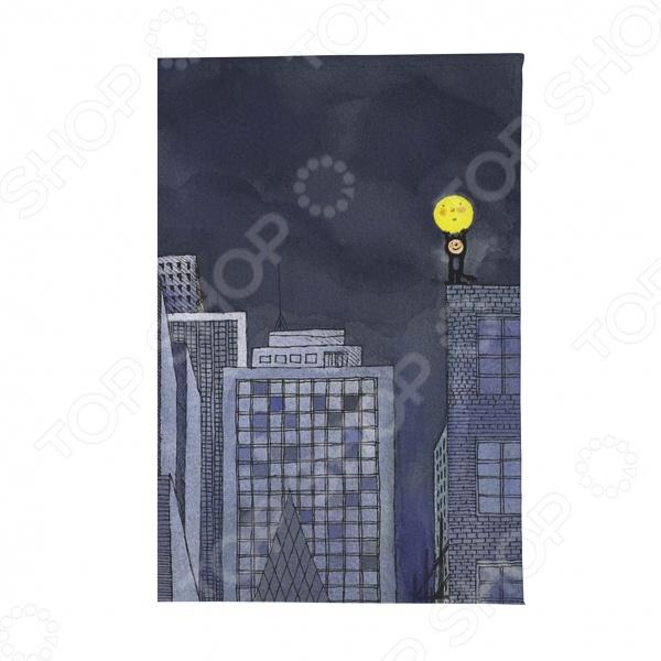 Обложка для паспорта Mitya Veselkov «Мальчик и Луна» крылья для старк луна