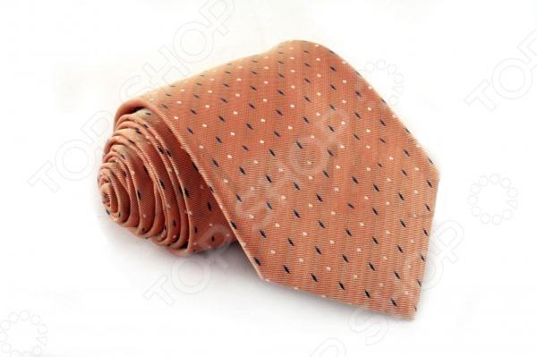 Галстук Mondigo 33110Галстуки. Бабочки. Воротнички<br>Галстук Mondigo 33110 это стильный аксессуар, необходимый для создания элегантного вида. Изготовлен из высококачественной микрофибры. Галстук украшен мелким орнаментом из точек. Отлично дополнит наряд в свободном стиле. Подойдет для торжественных и официальных мероприятий. С этим галстуком вы сможете привлечь взгляды, и обратить на себя должное внимание.<br>