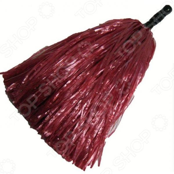 Помпон для черлидинга пластиковый A140-3    /Красный