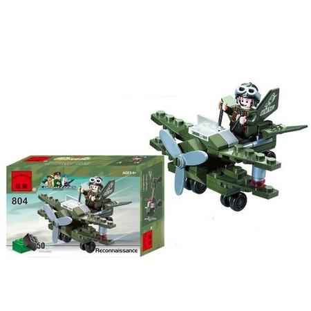 Купить Конструктор игровой Brick Reconnaissance «Военный самолет»