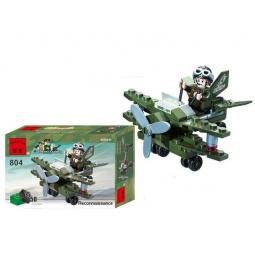 фото Конструктор игровой Brick Reconnaissance «Военный самолет»