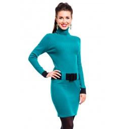 фото Платье Mondigo 10002. Цвет: изумрудный. Размер одежды: 42