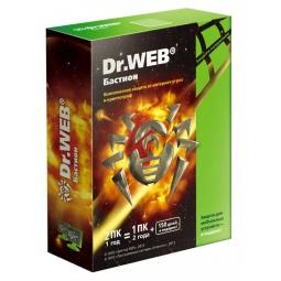 Купить Антивирусное программное обеспечение Dr.Web Security Space PRO + криптограф Atlansys Bastion 2 ПК на 12 мес (Box)