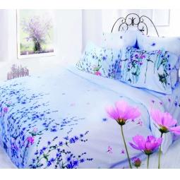 фото Комплект постельного белья Сова и Жаворонок «Свежесть» 19022/1. 1,5-спальный