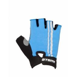 фото Перчатки велосипедные облегченные Atemi AGC-05. Цвет: синий. Размер: S