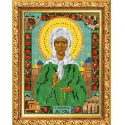 Купить Набор для вышивания бисером Светлица «Святая Матрона Московская»