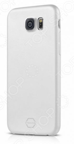 Чехол для Galaxy S6 ITSKINS Zero DeluxЗащитные чехлы для других мобильных телефонов<br>Чехол для Galaxy S6 ITSKINS Zero Delux практичный и функциональный аксессуар для вашего гаджета. Модель сочетает в себе стильный дизайн и великолепное качество исполнения. Основным назначением чехла является защита смартфона от различного рода механических повреждений, ударов и попадания жидкости. Кроме того, покупка чехла это еще и самый простой способ изменить дизайн вашего телефона. Чехол выполнен из ультратонкой экокожи 0,9 мм , выглядит довольно дорого и стильно, приятен на ощупь. Модель прекрасно защищает заднюю и боковые стенки смартфона. Чехол снабжен всеми необходимыми отверстиями для свободного доступа к кнопкам и разъемам Galaxy S6.<br>