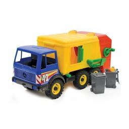 фото Машинка игрушечная Лена «Мусоровоз трехосный» 08017