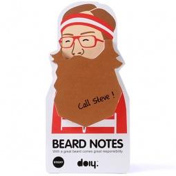 фото Блок для записей Doiy Beard. Цвет: коричневый