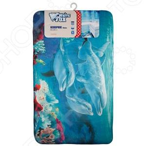Коврик для ванной White Fox WHMR24-224 Marine Relax  коврик для ванной white fox relax газон цвет зеленый 50 х 70 см