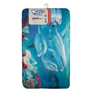 Купить Коврик для ванной White Fox WHMR24-224 Marine Relax