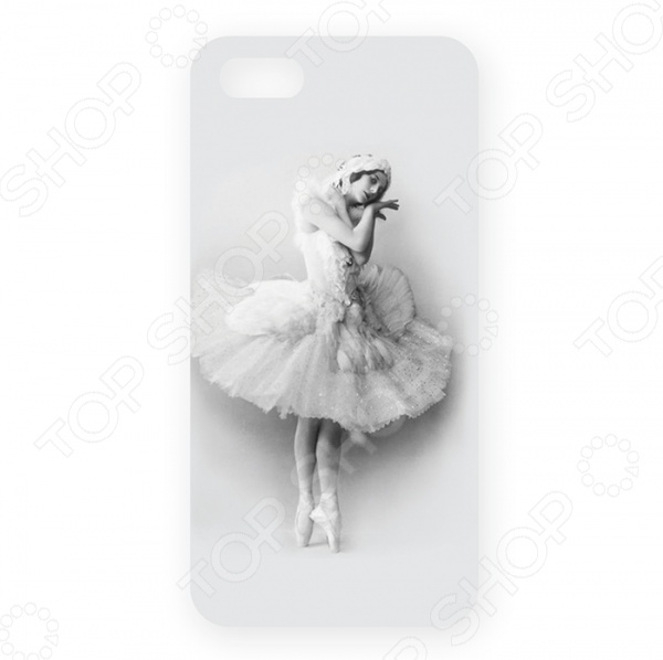 Чехол для iPhone 5 Mitya Veselkov «Анна Павлова»