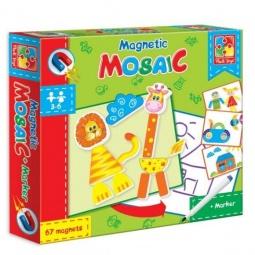 фото Мозаика магнитная Vladi Toys «Львенок и Жираф»