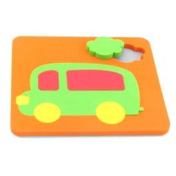фото Игрушка-сортер развивающая El Basco «Рамка-вкладыш. Автобус»