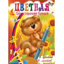 фото Набор бумаги Бриз «Веселый медвежонок»