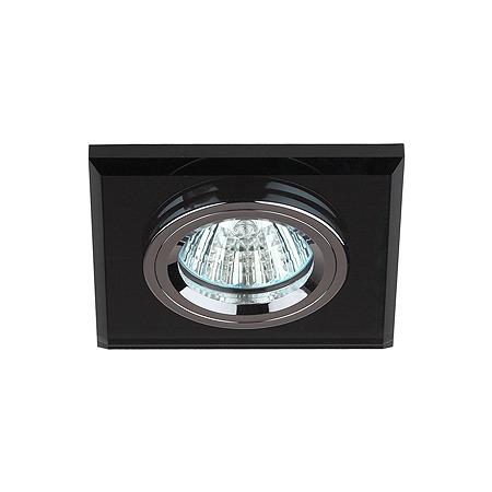 Купить Светильник светодиодный встраиваемый Эра DK8 CH/BK