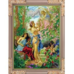 Купить Набор для вышивания бисером Светлица «В саду»